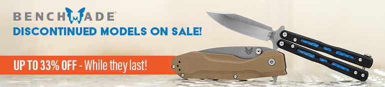 Benchmade Discontinued Models On Sale